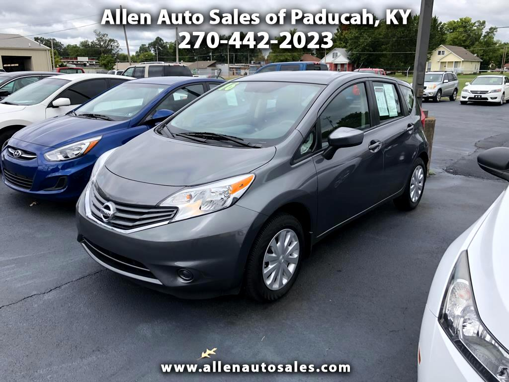 2016 Nissan Versa Note 1.6 S 5 Door