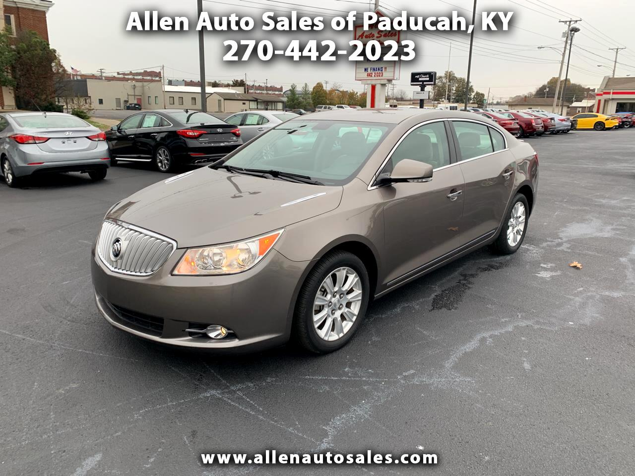 2012 Buick LaCrosse eAssist Leather FWD