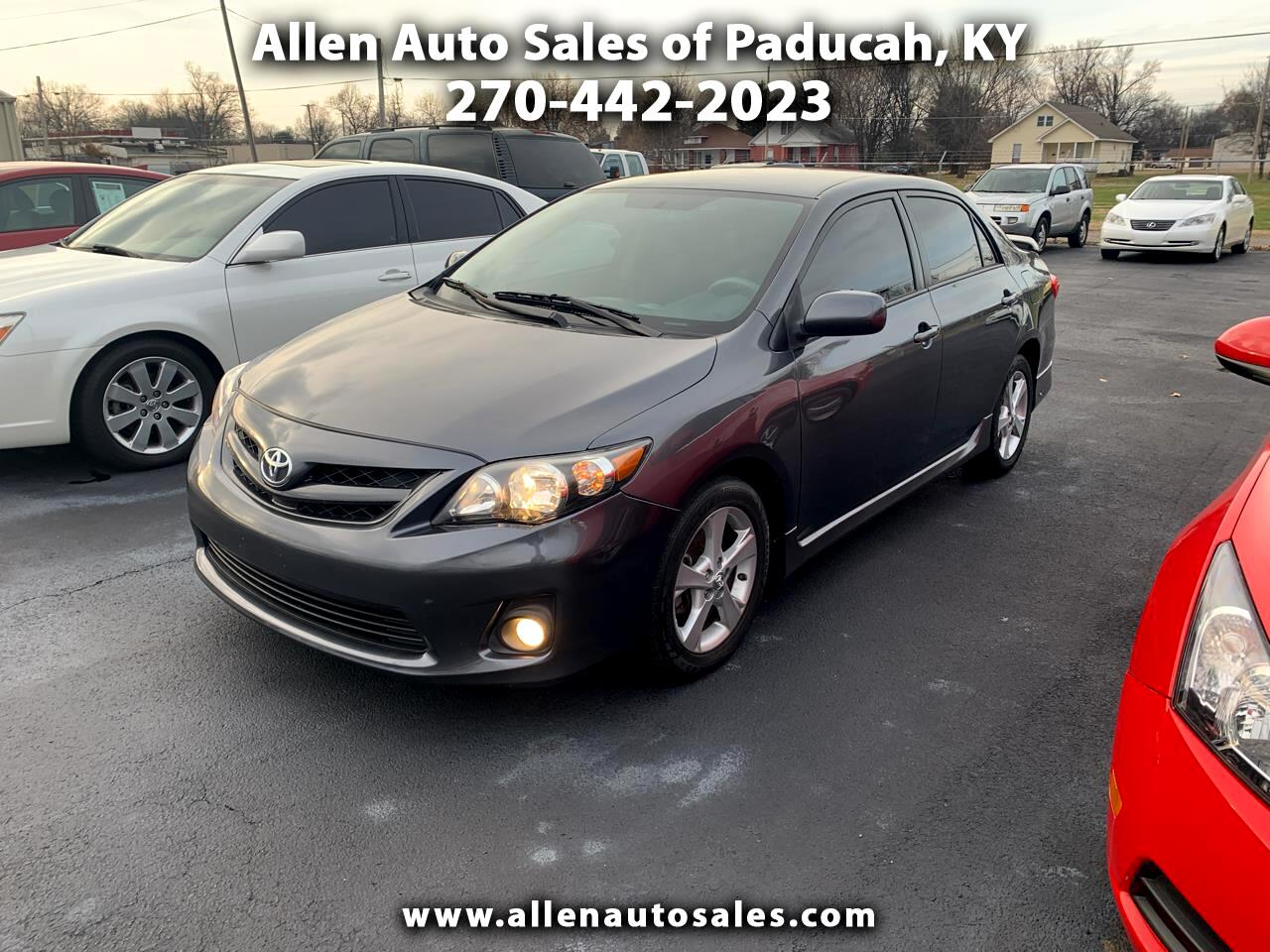 Allen Auto Sales >> Used 2011 Toyota Corolla For Sale In Paducah Ky 42001 Allen Auto Sales