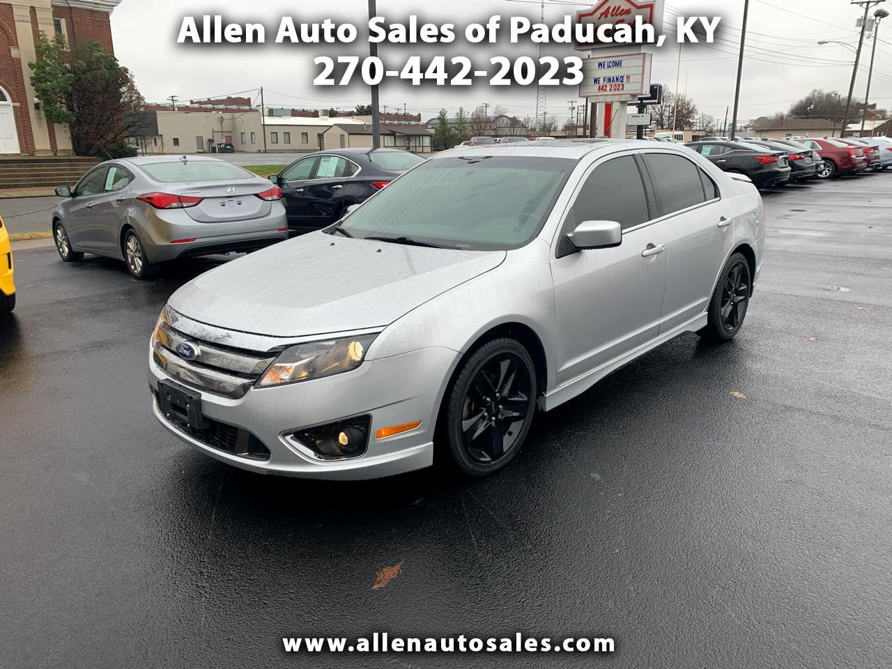 2011 Ford Fusion Sport FWD