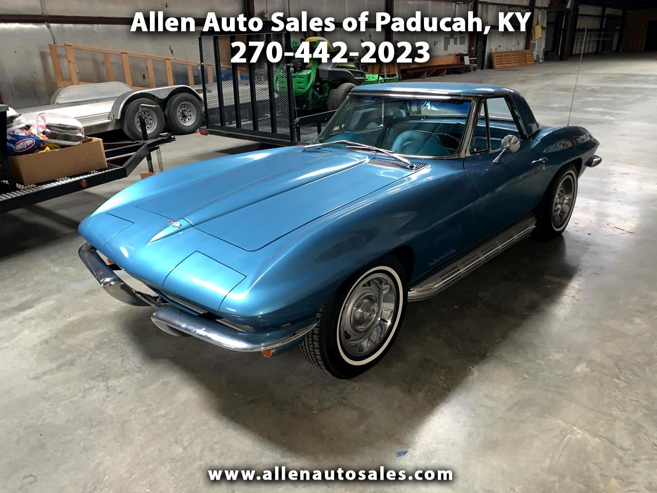 1967 Chevrolet Corvette Stingray 2dr Cpe Automatic