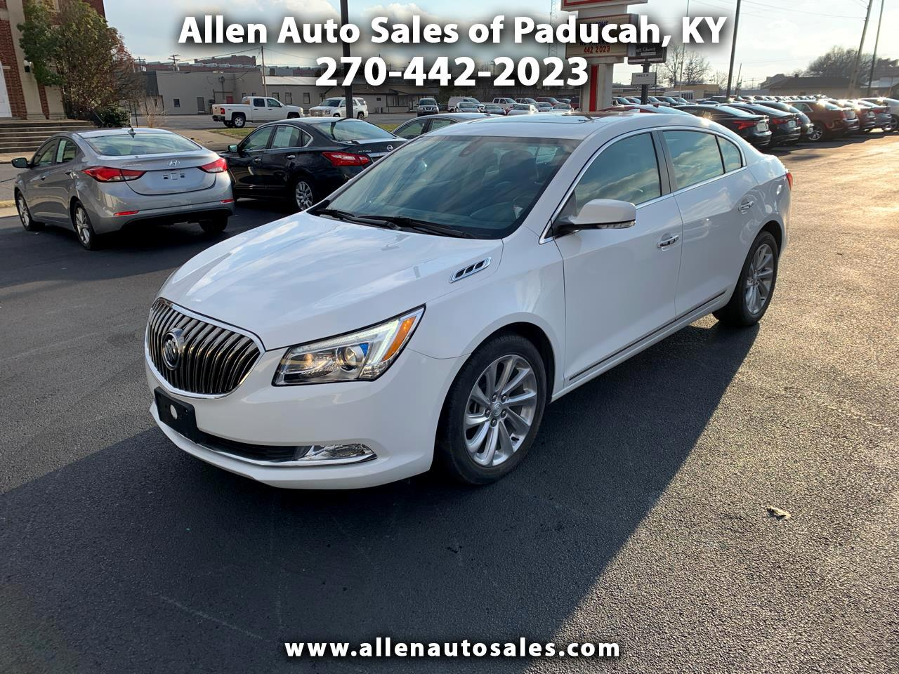 2016 Buick LaCrosse 4dr Sdn Leather FWD
