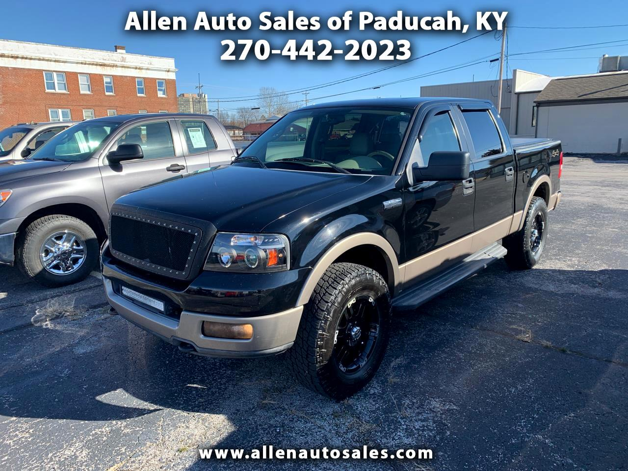 2005 Ford F-150 Lariat SuperCrew 6.5-ft. Bed 4WD
