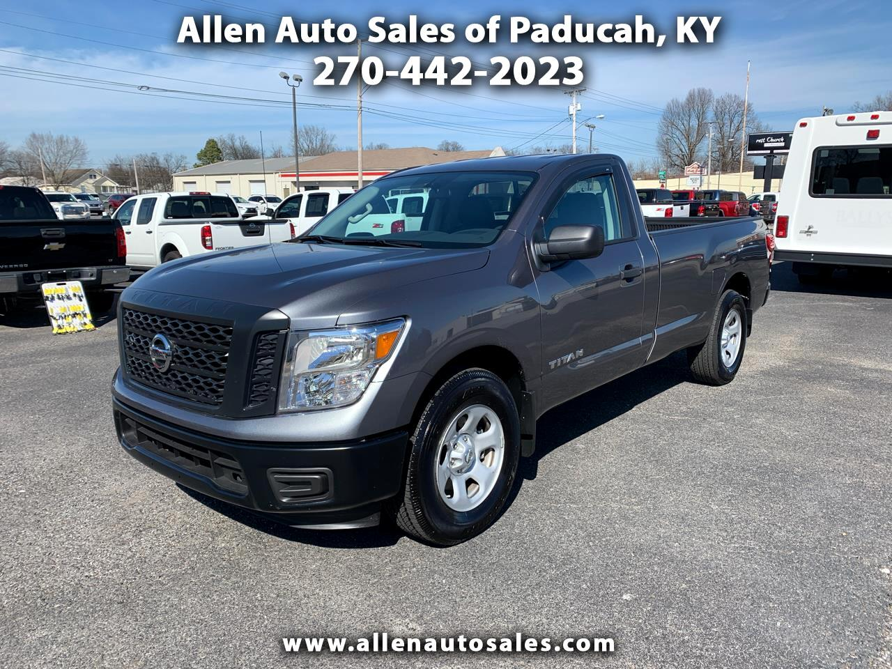 2018 Nissan Titan 4x2 Single Cab S
