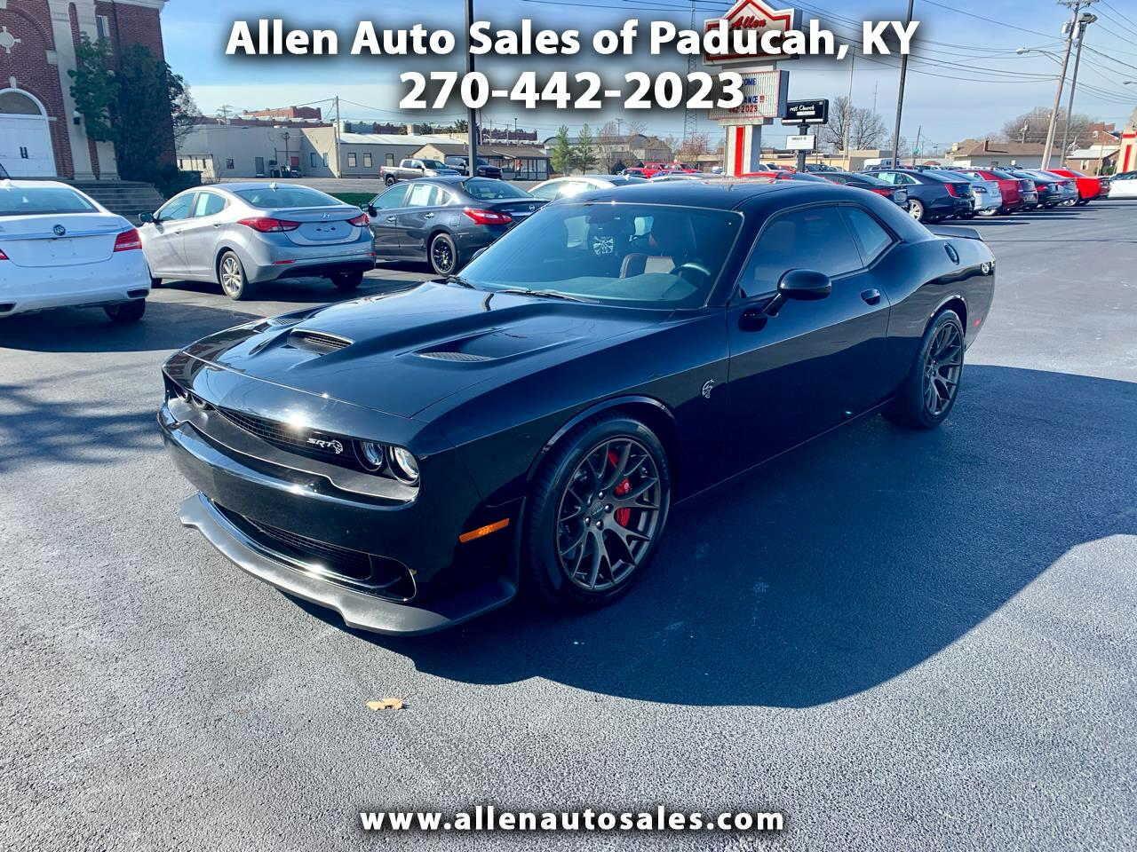 2018 Dodge Challenger SRT Hellcat RWD