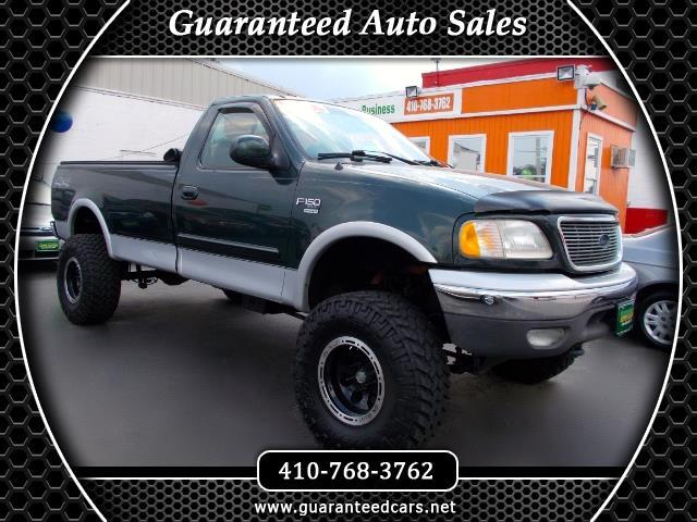 2002 Ford F-150 XLT Short Bed 4WD