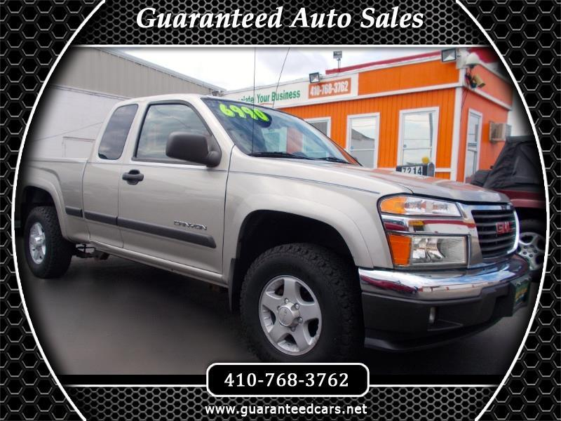 2004 GMC Canyon SL Z85 Ext. Cab 4WD