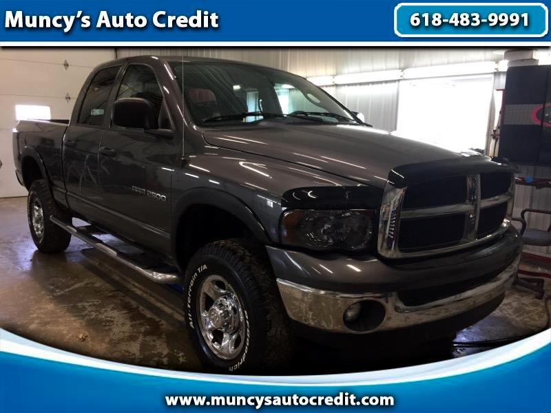 Dodge Ram 2500 Laramie Quad Cab Long Bed 4WD 2004