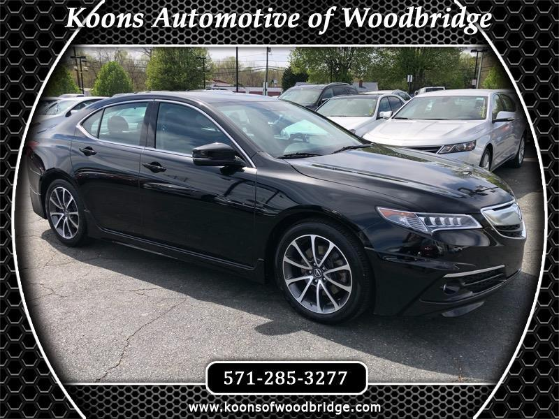 2016 Acura TLX 9-Spd AT SH-AWD w/Advance Package