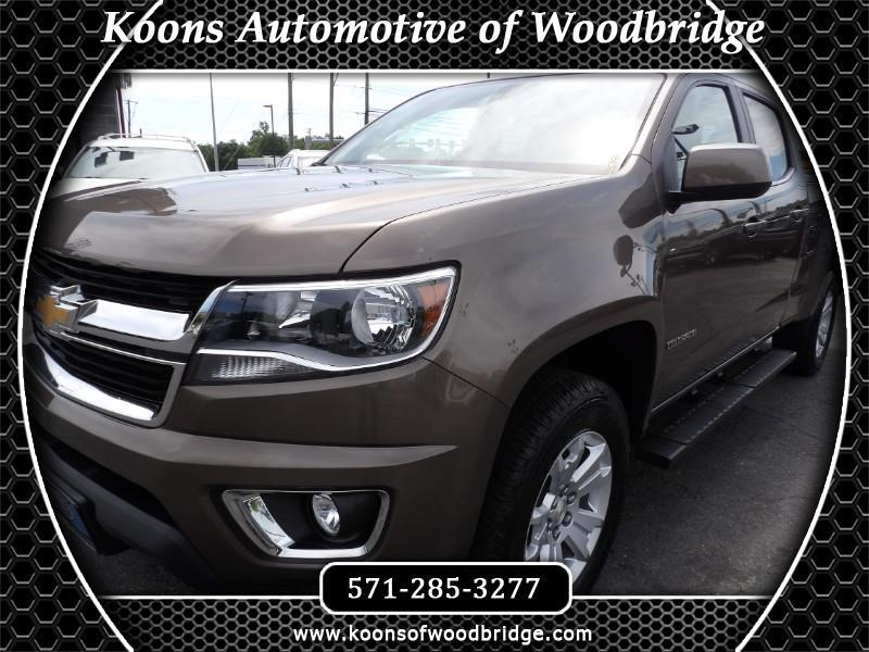 Chevrolet Colorado LT Crew Cab 4WD Short Box 2017