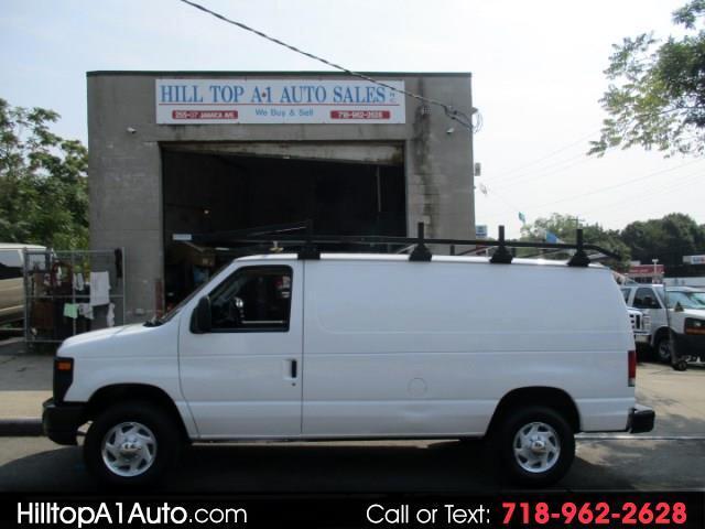 2012 Ford Econoline Vans E-350 Enclosed Cargo Van with Rack & Bins Loa