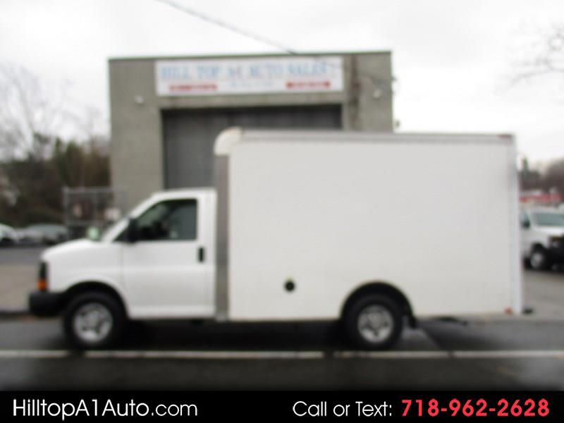 2014 Chevrolet Express Commercial Cutaway G3500 12 Foot Box Truck