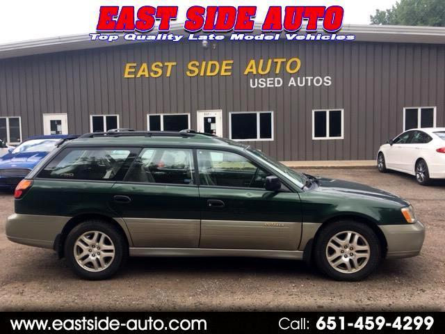 2002 Subaru Legacy Wagon 5dr Outback Man. w/All Weather Pkg