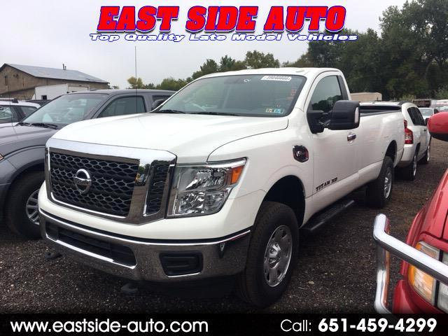 2017 Nissan Titan XD 4x4 Gas Single Cab SV