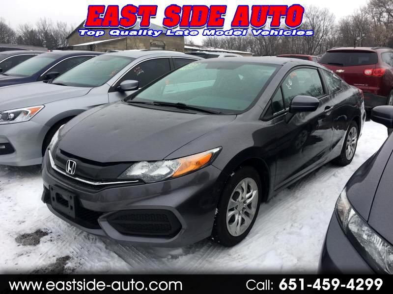 2014 Honda Civic Coupe 2dr CVT LX