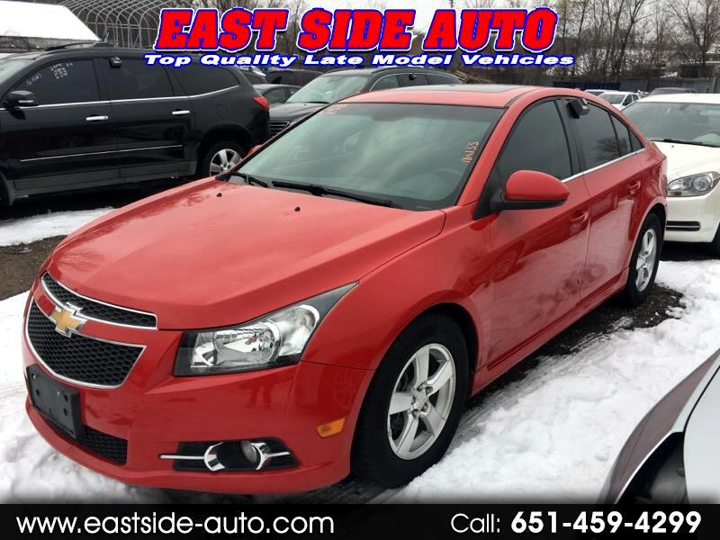 used 2013 chevrolet cruze 4dr sdn auto 1lt for sale in. Black Bedroom Furniture Sets. Home Design Ideas
