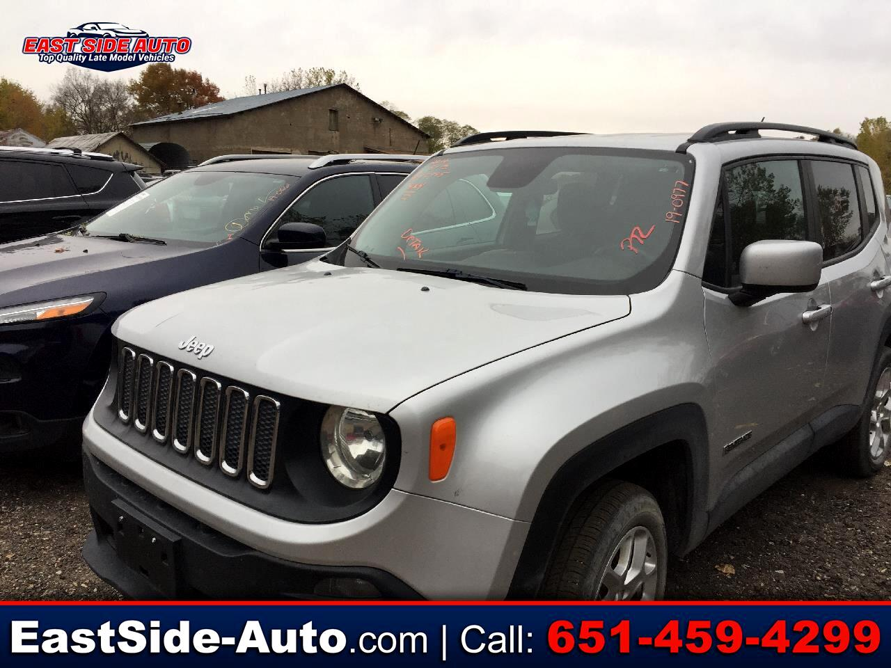 Used 2016 Jeep Renegade 4wd 4dr Latitude For Sale In
