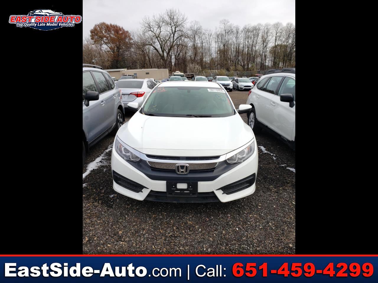 Honda Civic Sedan LX CVT 2017