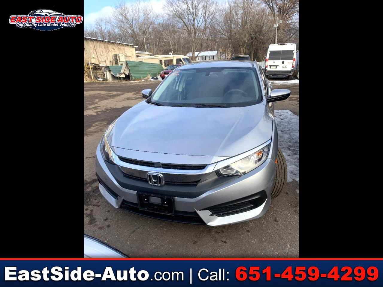 Honda Civic Sedan EX CVT 2018