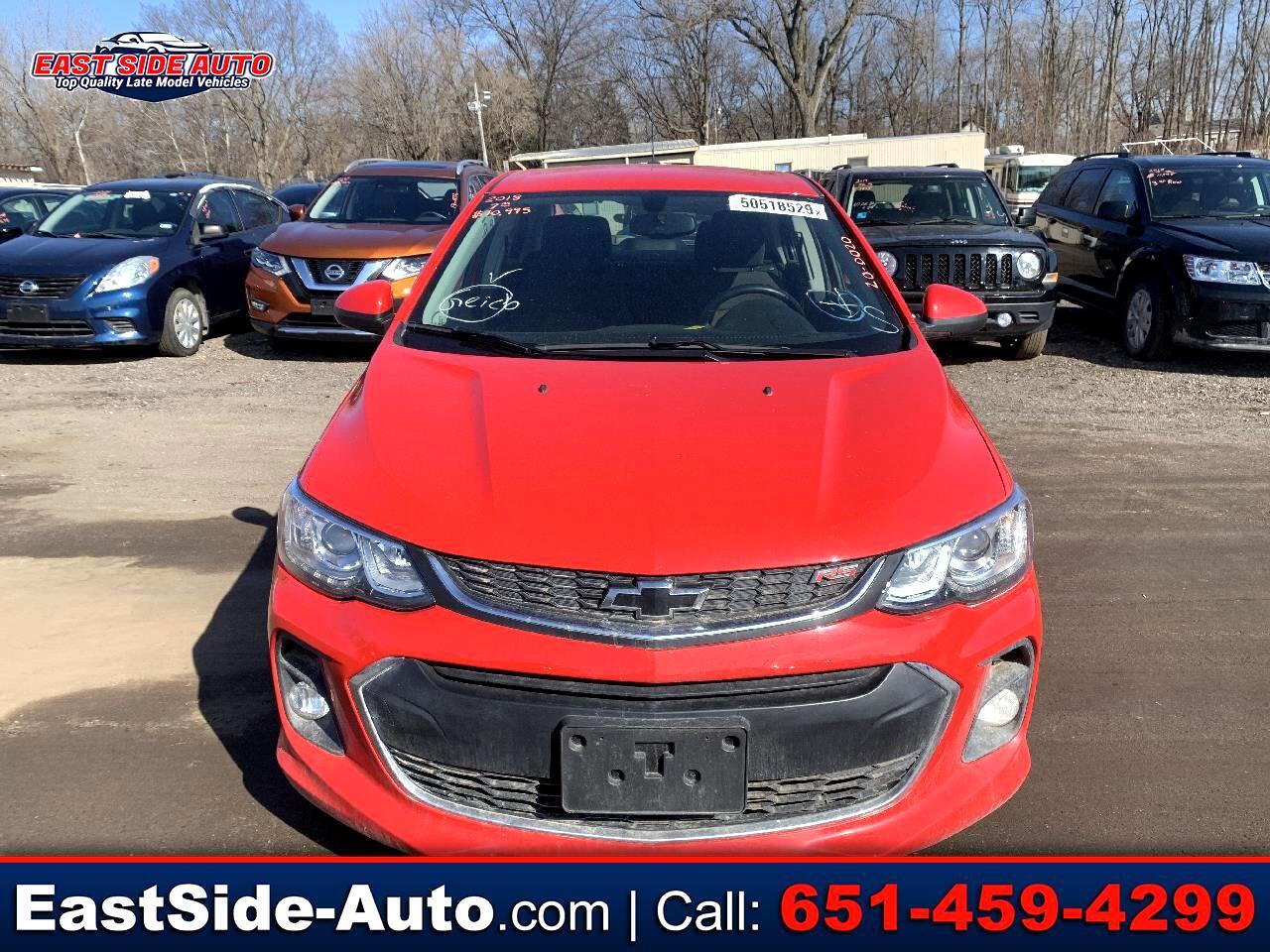 Chevrolet Sonic 4dr Sdn Auto LT 2018