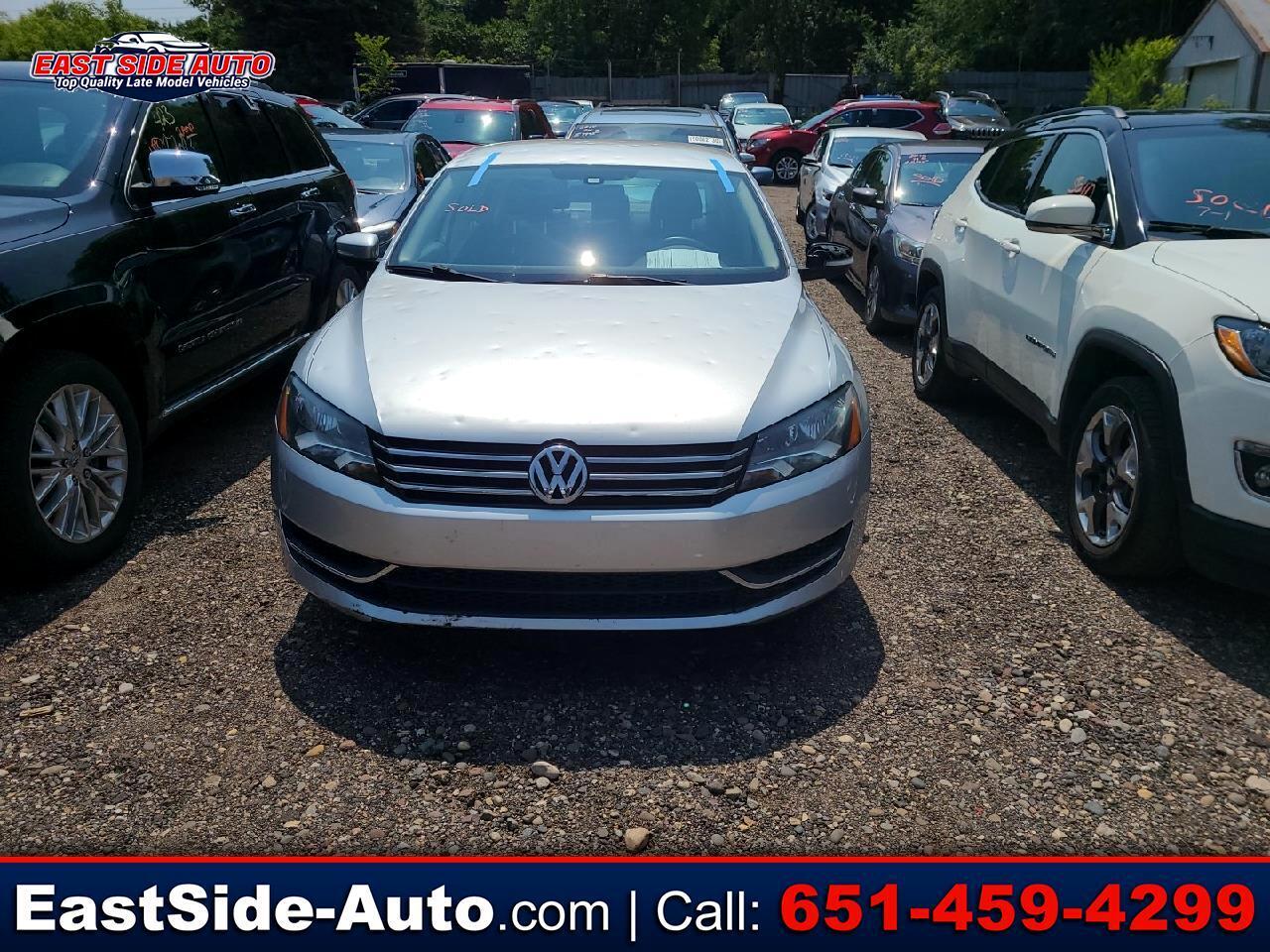 Volkswagen Passat 4dr Sdn 2.5L Auto S *Ltd Avail* 2014