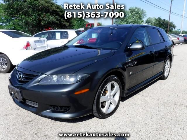 used 2004 mazda mazda6 sport wagon for sale in mchenry il 60051 retek auto sales. Black Bedroom Furniture Sets. Home Design Ideas