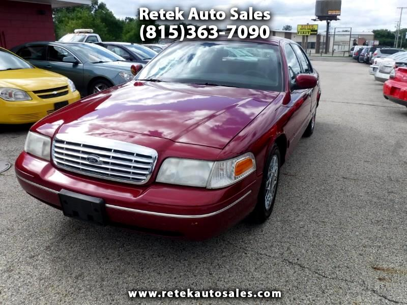 Ford Crown Victoria Standard 2002
