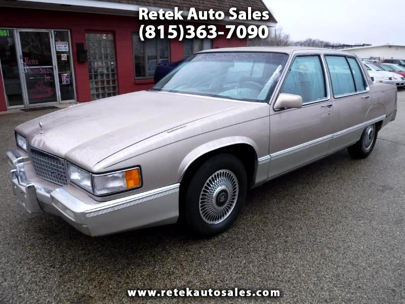 Cadillac Fleetwood Sedan 1989