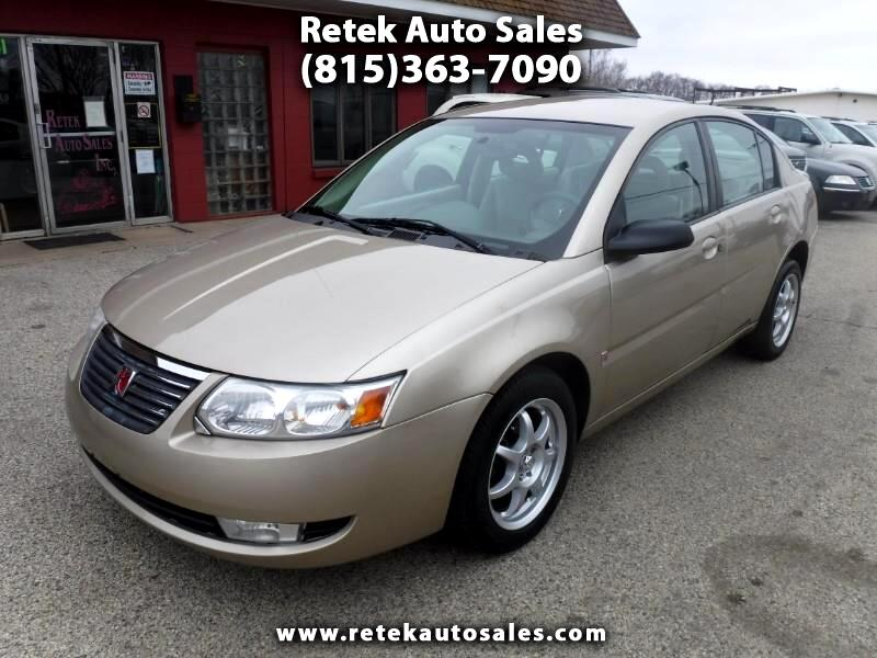 Saturn ION 3 Sedan Automatic 2007