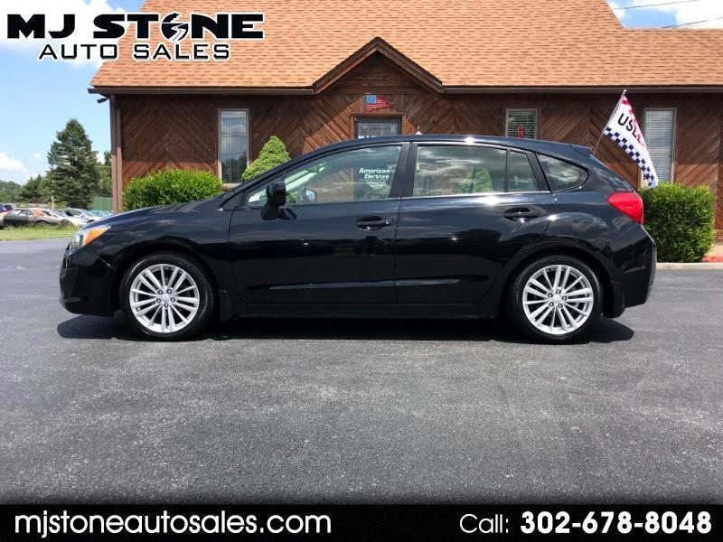 2012 Subaru Impreza Premium Plus 5-Door+S/R