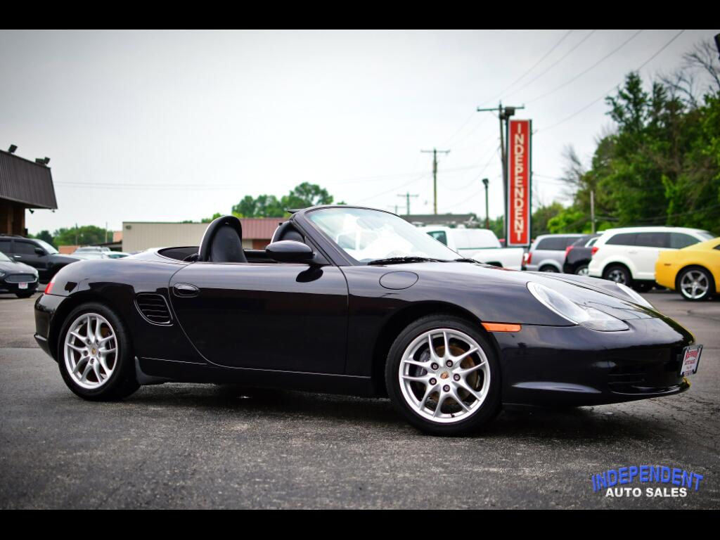 2004 Porsche Boxster 2dr Roadster 5-Spd Manual
