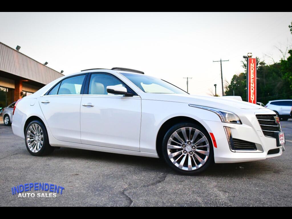 2015 Cadillac CTS Sedan 2.0L Turbo Luxury AWD