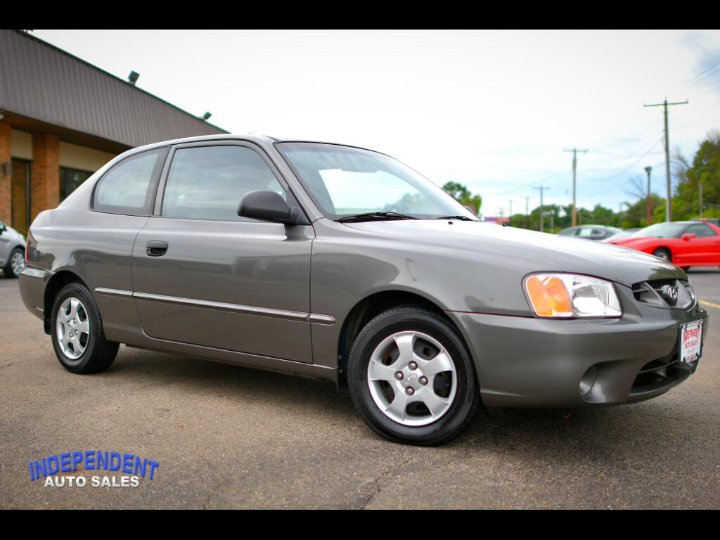 2002 Hyundai Accent GS HB Coupe