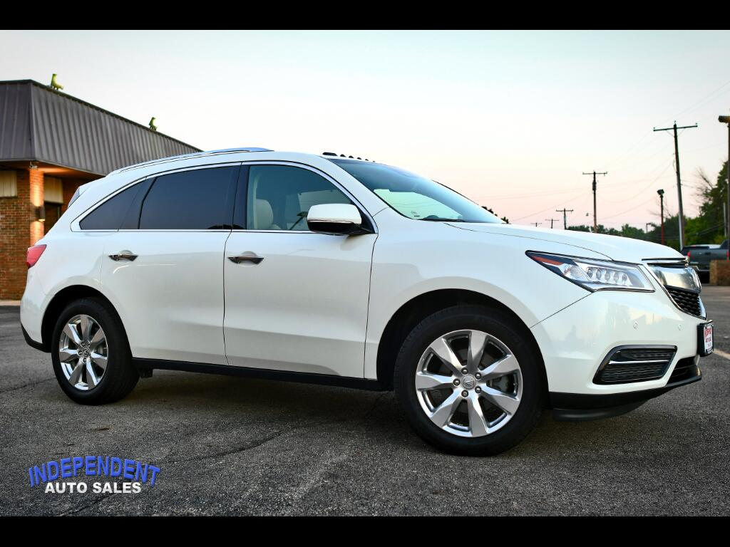 Acura Of Troy >> Used 2016 Acura Mdx For Sale In Troy Oh 45373 Independent