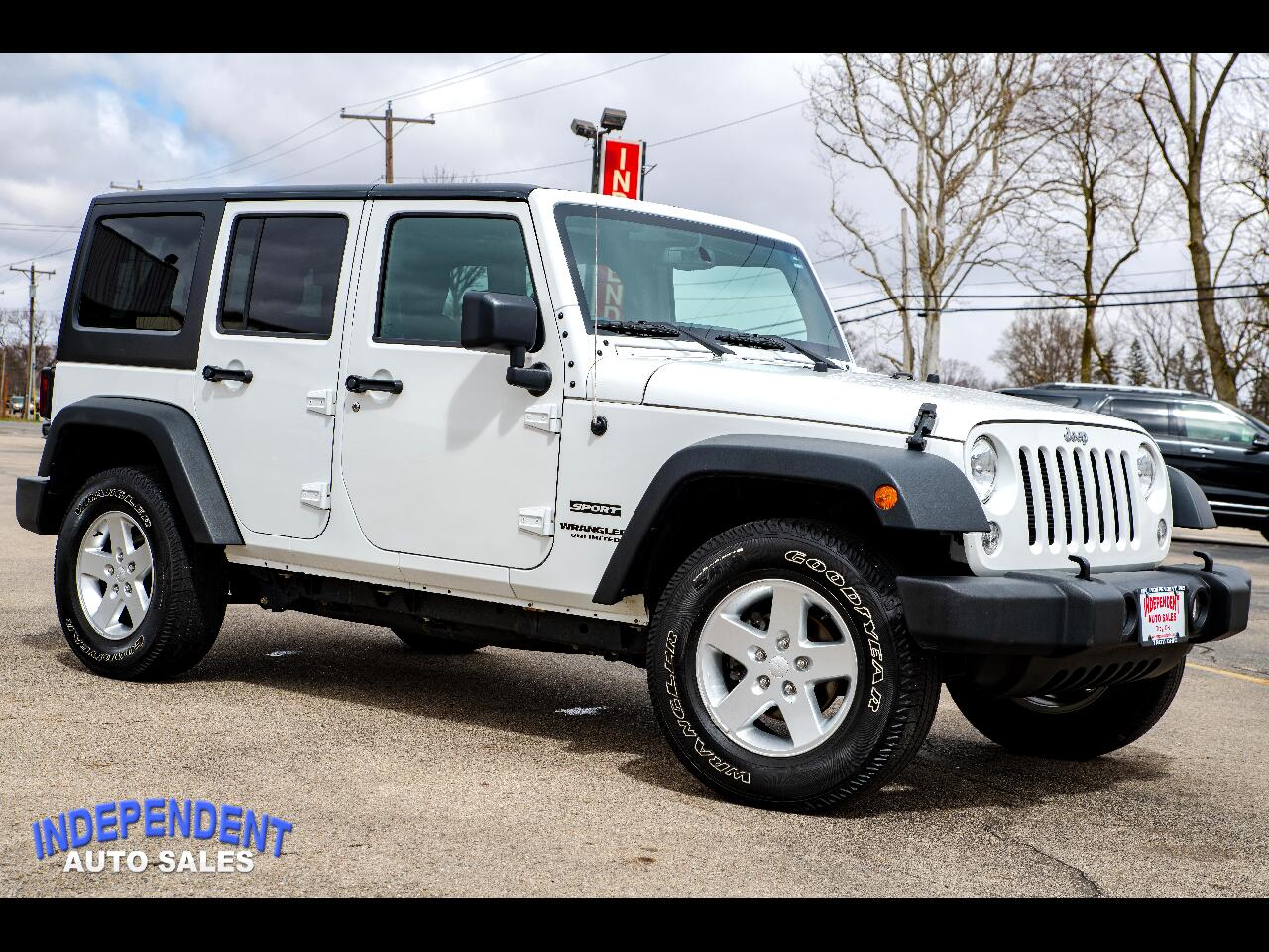 2016 Jeep Wrangler Unlimited 4WD Sport