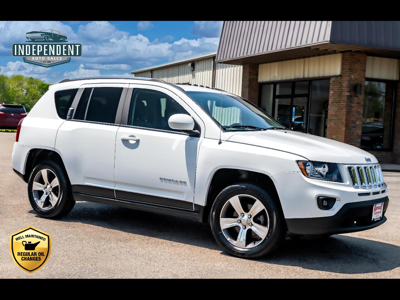 2016 Jeep Compass FWD High Altitude Edition