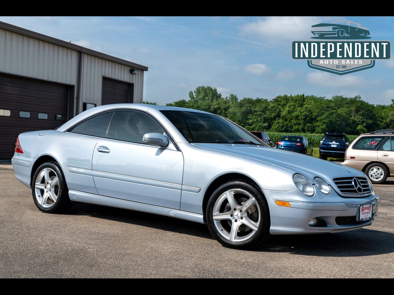 2002 Mercedes-Benz CL-Class CL500 Coupe