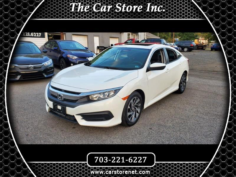 2017 Honda Civic EX Sedan CVT