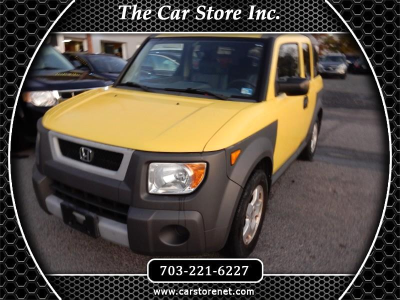 Honda Element EX 4WD 4-spd AT 2005