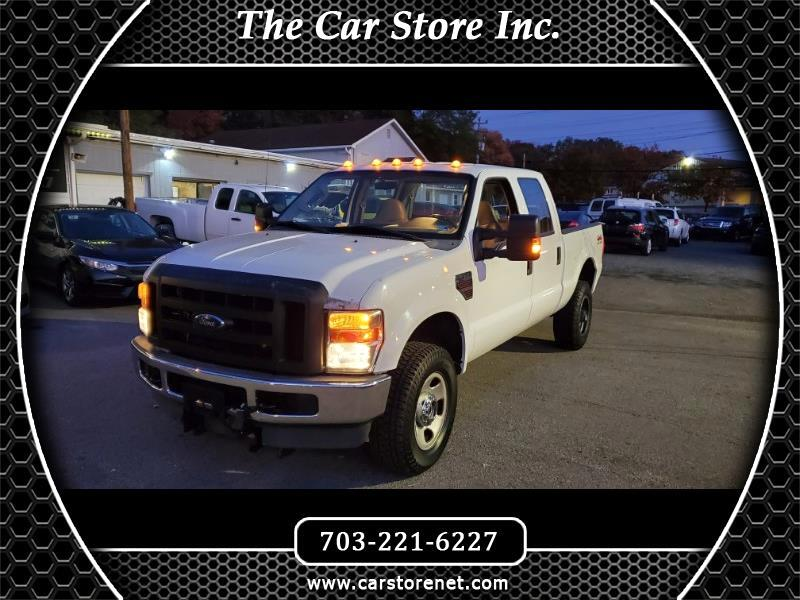 Ford F-350 SD Crew Cab 4WD 2008