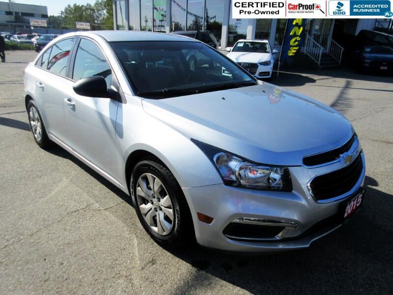 2015 Chevrolet Cruze $62 biwkly* LS