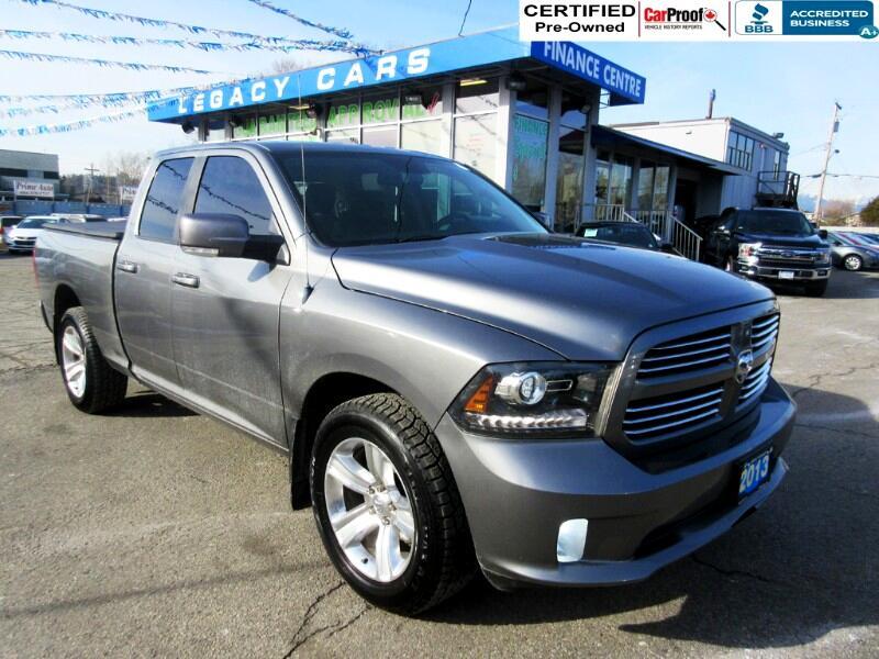 2013 RAM 1500 $223 biwkly* SPORT 4WD