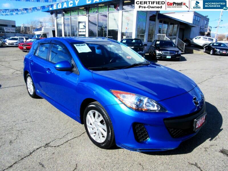 2012 Mazda MAZDA3 $99 biwkly* GS SKY SPORT