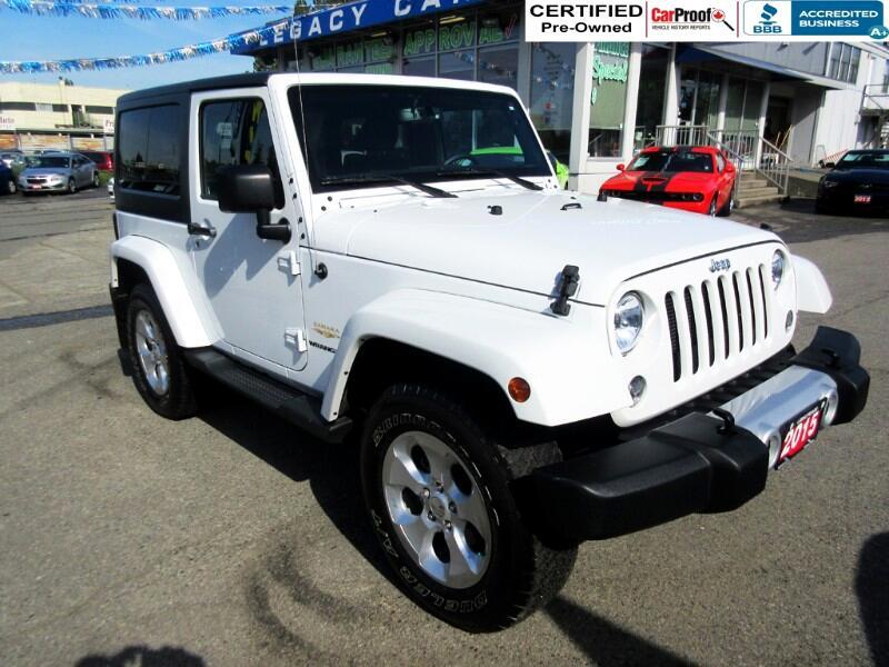 2015 Jeep Wrangler $220 biwkly* SAHARA 4WD