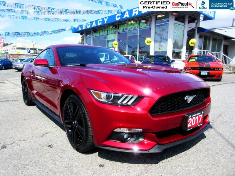 2017 Ford Mustang $210 bi wkly* ECO BOOST PREMIUM