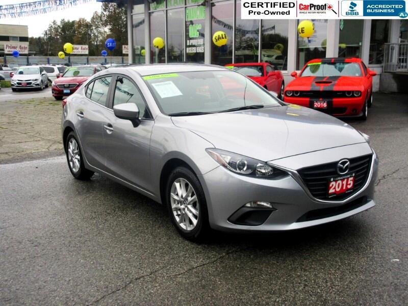2015 Mazda MAZDA3 GS NAVI $120 bi wkly*