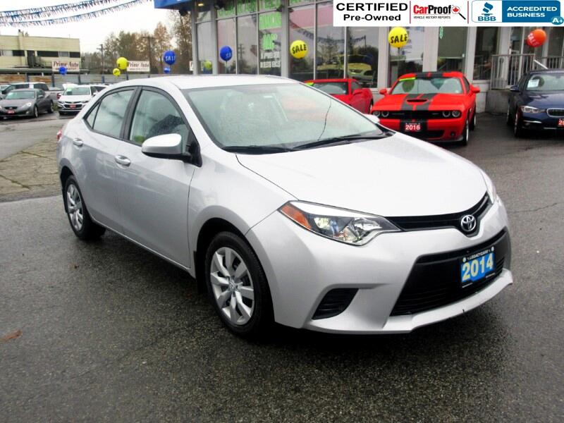 2014 Toyota Corolla LE  ECO $110 bi wkly*