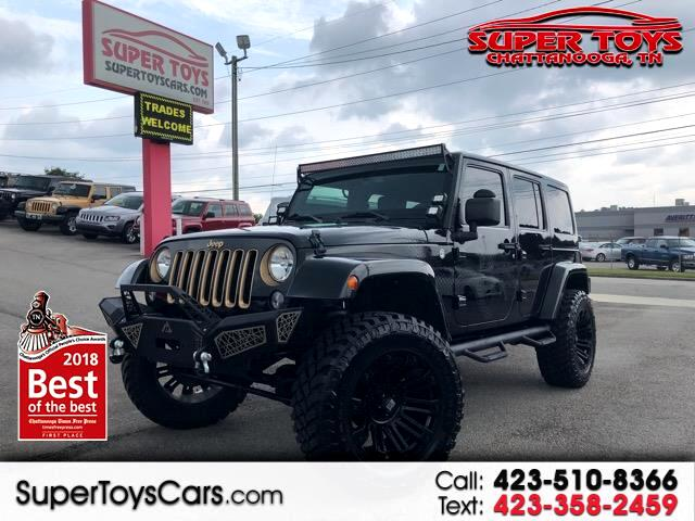 2014 Jeep Wrangler Sahara Dragon Edition