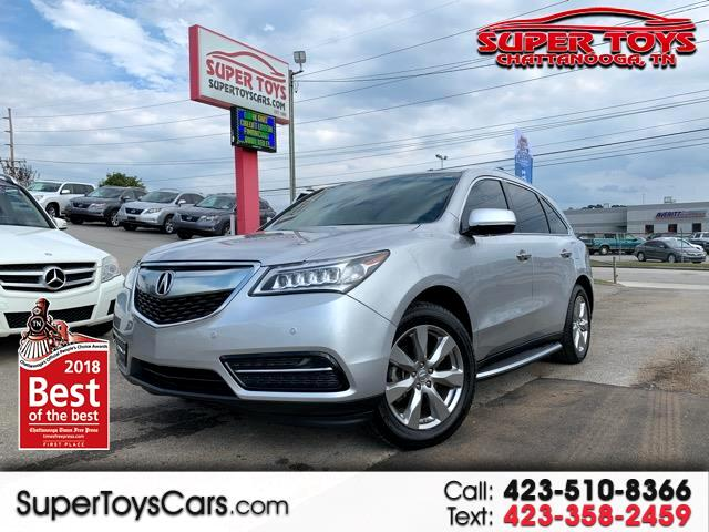 2014 Acura MDX FWD 4dr Advance/Entertainment Pkg