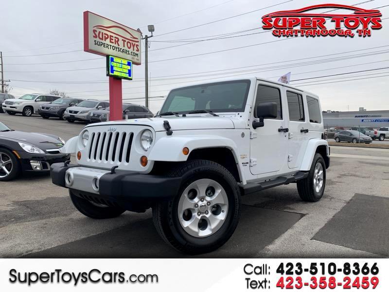 2013 Jeep Wrangler Sahara Unlimited